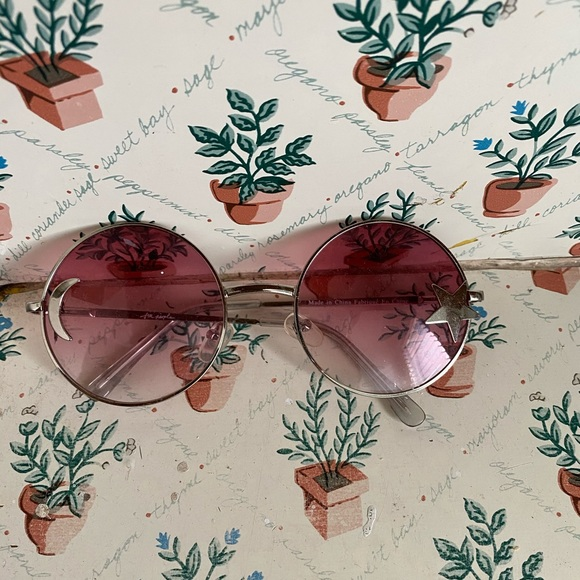 Free People Moon and Star Sunglasses